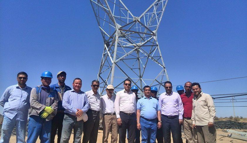 بازدید مدیرعامل از پروژه خط ترکمنستان
