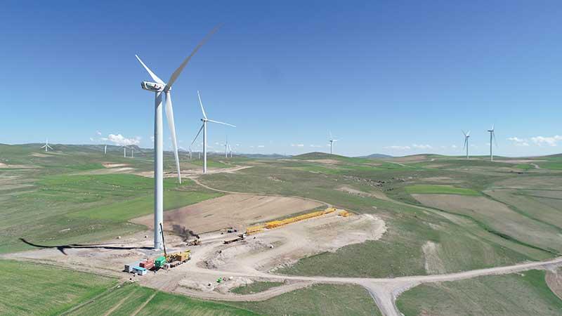 سنکرون اولین واحد مزرعه بادی آقکند با موفقیت انجام شد