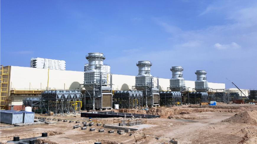 نیروگاه سیکل ترکیبی 3000 مگاواتی رمیله عراق