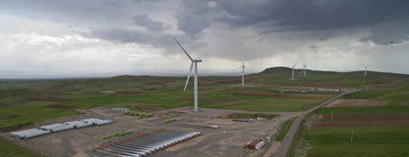نیروگاه بادی EPC آقکند